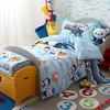 Dohia 多喜爱 全棉儿童卡通四件套 海底小纵队探险记 1.2m床单款