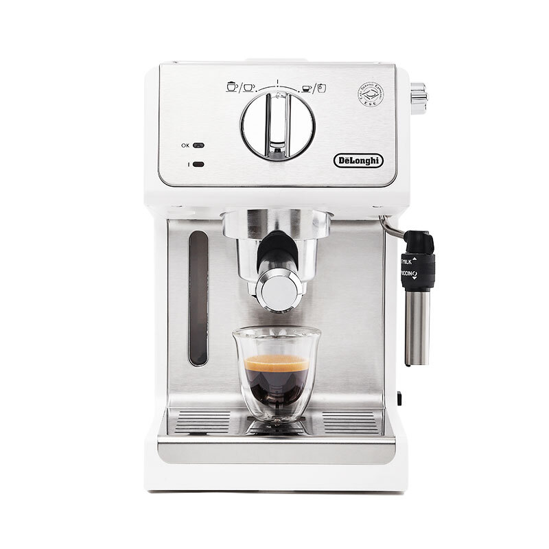 Delonghi 德龙 ECP35.31.W 半自动咖啡机 白色