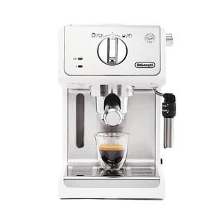 Delonghi 德龙 ECP35.31.W 半自动咖啡机 白色 1.1L