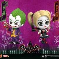 Hot Toys 《蝙蝠侠·阿卡姆骑士》Cosbaby 小丑、小丑女套装