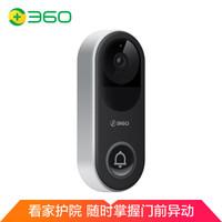 360 可视门铃 D939智能摄像机摄像头可视门铃电子猫眼智能门铃家用无线监控wifi 远程防盗高清夜视
