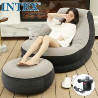 1日0点、61预告:INTEX 68564 充气沙发躺椅 脚凳 充气泵