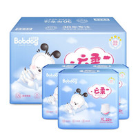 BoBDoG 巴布豆 云柔系列 通用拉拉裤 XL66片 *3件
