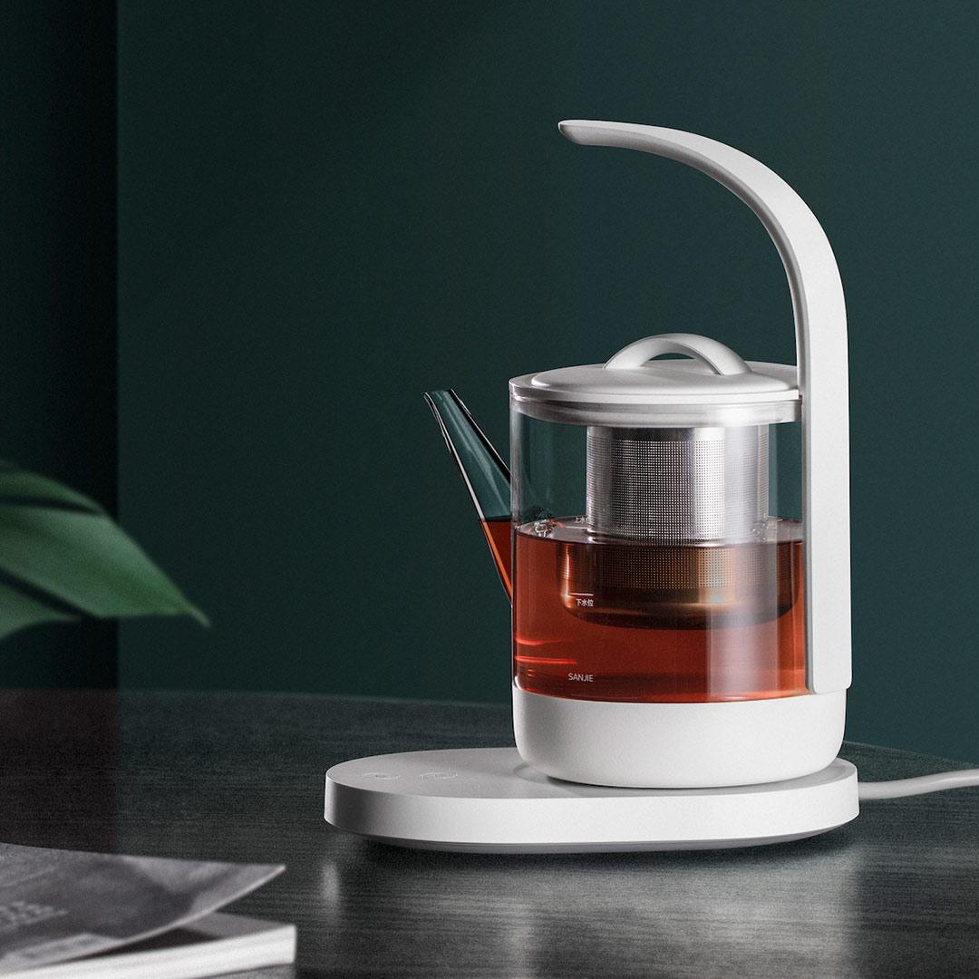 三界茶具多功能养生煮茶器