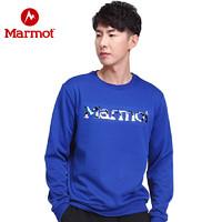Marmot/土拨鼠2020新款运动休闲男女情侣款卫衣时尚舒适保暖圆领卫衣