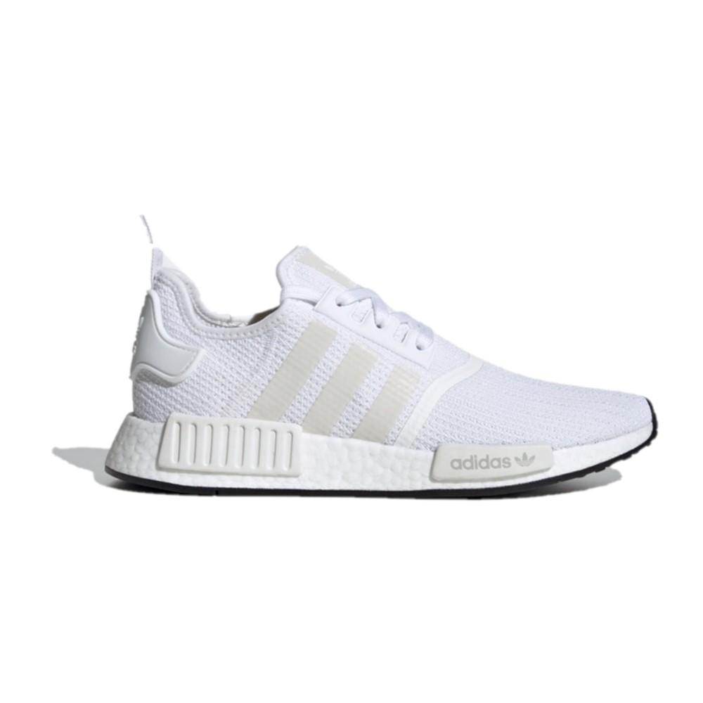 Adidas 三叶草 NMD_R1 中性休闲运动鞋 FV8151 亮白/1号黑色 36.5