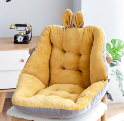 坐垫椅垫女学生椅子垫宿舍座椅靠垫一体办公室餐椅屁股垫家用加厚