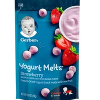 Gerber 嘉宝 酸奶溶豆 草莓味 28g