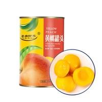 子由时光 黄桃罐头 425g*6罐