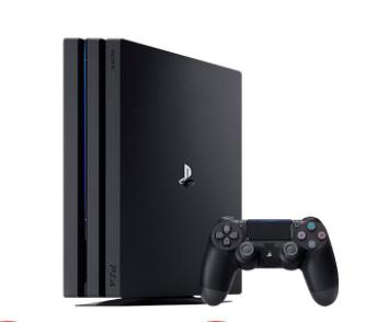 SONY 索尼 PlaySration 4 Pro 家用游戏主机 1TB 单机 黑色 港版