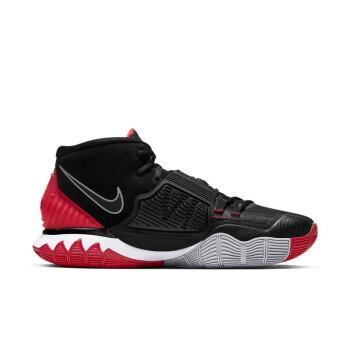 NIKE 耐克 KYRIE 6 男士篮球鞋 BQ4631-002 黑色/红色/白色 42.5