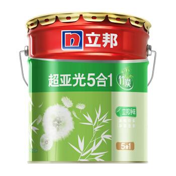 NIPPON PAINT 立邦 竹炭超亚光净味&墙面卫士净味组合套装