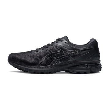 ASICS 亚瑟士 GT-2000 8 男士跑鞋 1011A690-001 黑色/黑色 42.5