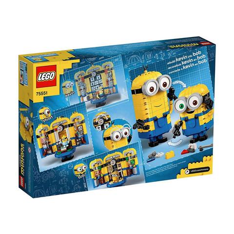 有券的上:LEGO 乐高 Minions 小黄人系列 75551 玩变小黄人
