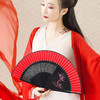 唐礼     中国古风长骨手绘女式折扇