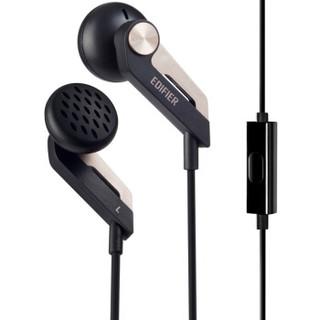 Edifier/漫步者 h186p耳机入耳式通用手机耳塞式线控带麦克风耳麦