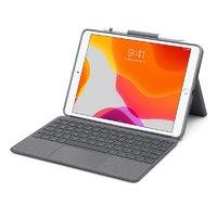 Logitech Combo Touch 键盘式保护壳配触控板 (适用于 iPad Air 第三代)