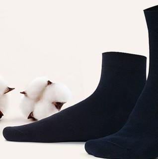 Langsha 浪莎 MF8770-6 男士纯棉中筒袜 6双装