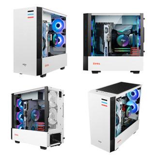 爱国者(aigo) 碟影MAX  V5幻彩版 5热管 CPU风冷散热器(多平台/5V3针主板同步/PWM温控/附带硅脂)