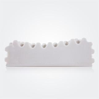 TEVEL 堂皇家纺 天然乳胶枕 (白色、单人、62*38*11cm、一只装)