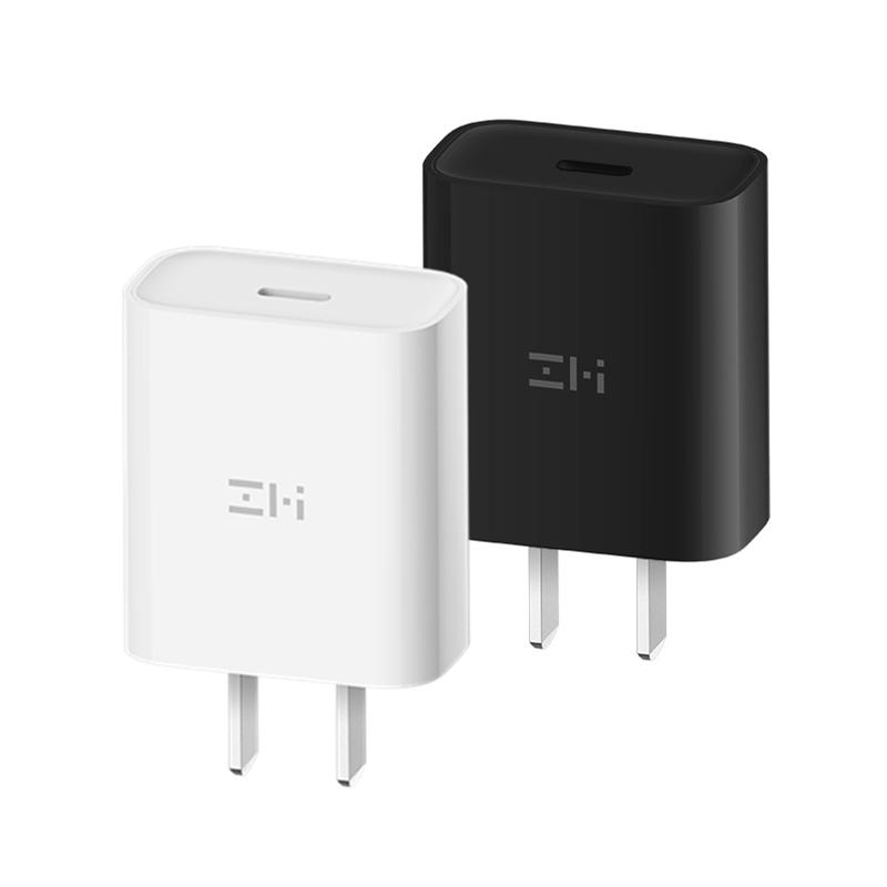 ZMI紫米PD充电器20W快充手机适用于苹果iPhone12/11/8P/X/XS MAX/XR/SE2通用Type-C充电器头18W *9件