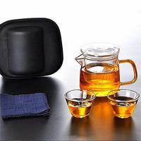 kavar 米良品 便携式茶具套装 一壶二杯