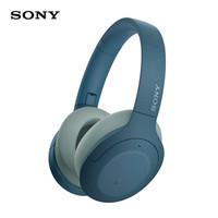 索尼(SONY)WH-H910N 蓝牙降噪无线耳机 头戴式Hi-Res音质游戏耳机 手机耳机(hear系列 蓝色)