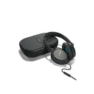 BOSE QuietComfort 25 QC25 有线降噪耳机适用于APPLE (黑色、通用、头戴式)