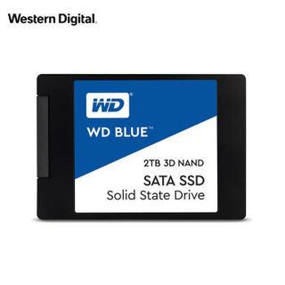 WD 西部数据 Blue系列-3D版 SATA 固态硬盘 2TB