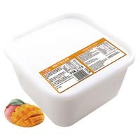 明治(meiji)芒果冰淇淋 2100g/盒 商用业务装