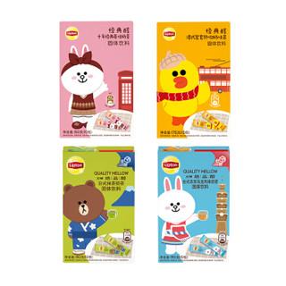 Lipton 立顿 Lipton JOY 狗年礼盒奶茶Line Friends缤纷分享装 4种口味 705g