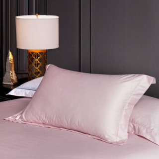 LOVO家纺 罗莱生活出品四件套 吉尔吉特(床单款 粉)1.8米床(被套220x240cm)