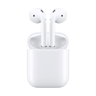 Apple 苹果 新AirPods(二代)真无线蓝牙耳机 有线充电盒版