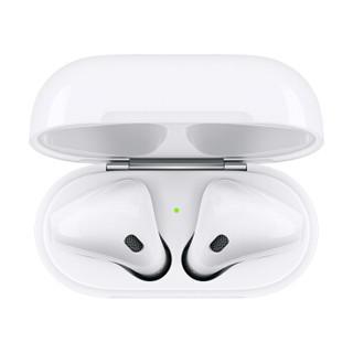 Apple 苹果 AirPods 2 真无线耳机 有线充电盒版 白色