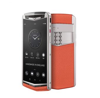 VERTU 纬图 ASTER P 巴洛克系列 4G手机 6GB+128GB 曙光橙