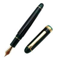 PLATINUM 白金 PNB-13000 3776 世纪钢笔 桂冠绿 F尖 明尖