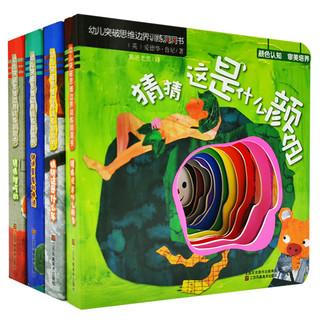 《幼儿思维边界拓展洞洞书 》全4册