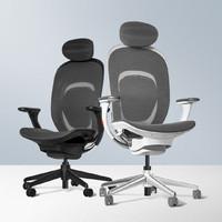YMI 悦米 人体工学椅 黑色款(透气网布版)