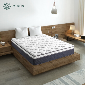 ZINUS 际诺思 超厚乳胶独立弹簧床垫 1.5m
