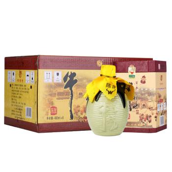 Niulanshan 牛栏山 二锅头 (箱装、浓香型、52度、400ml*6瓶)