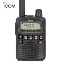 ICOM 艾可慕 手持台接收机 (黑色、 IC-R6、100kHz-1309.995MHz)