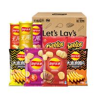 Lay's 乐事 加油礼盒 薯片组合装 8口味 712g