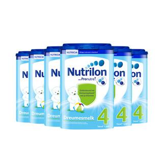 Nutrilon 荷兰牛栏 婴儿奶粉 4段 800g 6罐装