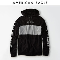 AEO American Eagle 1175_3807 男士套头印花帽衫