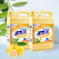 活力28 柠檬洗洁精1.1kg*2瓶 洗涤灵 快速去油 食品级可洗蔬果(柠檬/生姜/全效随机发货) 量贩装