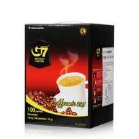 G7 COFFEE 中原咖啡 三合一速溶咖啡 盒装 100条 共1.6kg