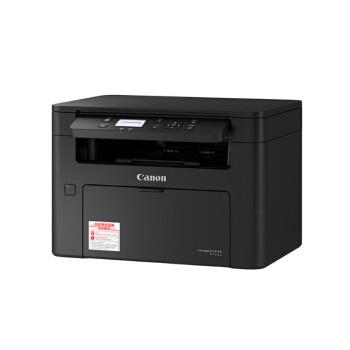 京东PLUS会员:Canon 佳能  iC MF112 黑白激光一体机 黑色
