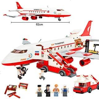 GUDI 古迪 航天系列 8913 大型客机 856粒