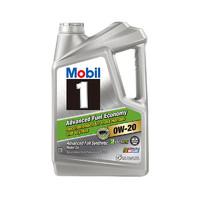 Mobil 美孚 1号 AFE 0W-20 SN 全合成机油 5Qt *2件