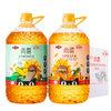 MIGHTY 多力 调和油组合装 3.68L*2桶(植物调和油3.68L+压榨葵花籽油3.68L)